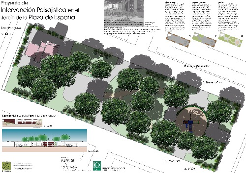 Trabajo3 Landscape architecture, environmental management, green infrastructures  en San Javier Murcia - Angel Rubio I Tormos