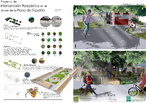 Trabajo4 Angel Rubio I Tormos - Landscape architecture, environmental management, green infrastructures  en San Javier Murcia
