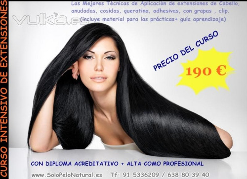 Trabajo1 - Venta de extensiones de cabello y pelucas de Chantal Hair Extension De Cabello De Pelo Natural Y Pelucas Indetectables
